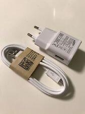 Original Samsung Schnellladegerät EP-TA20EWE + Datenkabel ECB-DU4AWE Weiß