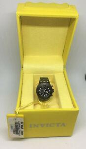 Invicta 13826 Gun Metal Black Dial Mini Watch Collection Sub Aqua For Desk