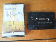 Derek and Clive : Ad Nauseam. Cassette 1978. Tested. Peter Cook & Dudley Moore