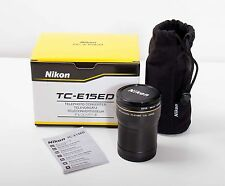 Nikon TC-E15ED 1.5X Teleconverter Coolpix 5400/5700 Camera Hoya 58mm UV FILTER