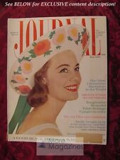 LADIES HOME JOURNAL July 1960 VICTORIA HOLT CATHARINE BARRETT MACKEY BROWN