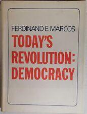Today's Revolution: Democracy - Ferdinand E. Marcos (1971 Hardcover)