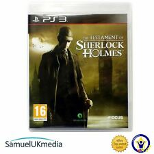 The Testament of Sherlock Holmes (PS3) **GREAT CONDITION!**