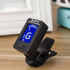 New For Bass Ukelele Acoustic Guitar LCD Digital Electronic Clip on Tuner Tester