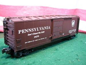 K-Line K761-1891 PRR Pennsylvania 24270 Don't Stand Me Still O Scale Boxcar