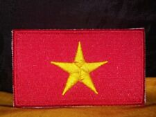 Vietnam Flag Embroidered Patch Iron-on Good Luck Magic Charm