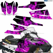 FireCat Arctic Cat Graphic Kit  F5,F6,F7 Sled Sabercat Snowmobile Wrap ICE PINK