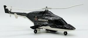 "1984 ERTL Airwolf 15"" Die Cast Helicopter Universal Studios USED"