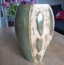 Earthenware Green European Art Pottery Vases