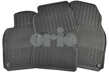 SAAB 9-3 2008-2011 Rubber Winter Floor Mat Set (4D/5D) GENUINE OEM 32026015