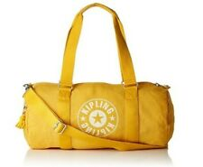 NEW Kipling Onalo Lively Yellow Gym sports bag travel tote duffle x body Rrp£84