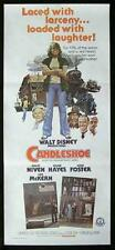 CANDLESHOE 1977 Jodie Foster Niven Hayes DISNEY daybill Movie Poster