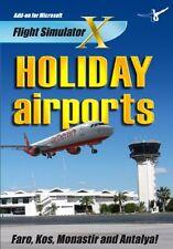 Los aeropuertos de vacaciones 1 (Pc-Dvd) Nuevo Sellado Add on para vuelo SIM X