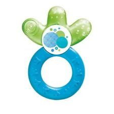 MAM Blue Green BPA Free Baby Cooler teether for Back Teeth age 3 months +