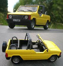 ARO 10 1997 4x4 cabrio 1/43 Ischia Dacia Renault Duster Spartana yellow unboxed