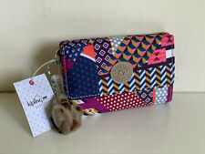 NEW! KIPLING PIXI PRINT PRINTED DREAM MEDIUM ORGANIZER WALLET PURSE SALE