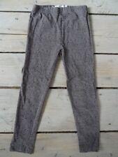 Leggings gris à poids noir rose et beige Taille 4-5 ans super état proche neuf