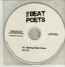 (CQ924) The Beat Poets, Staring Stars Down / G.I. - DJ CD