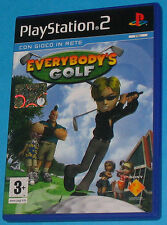Everybody's Golf - Sony Playstation 2 PS2 - PAL