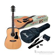 Ibanez Acoustic Quick Start JamPack IJV50 Dreadnought Guitar Starter Pack