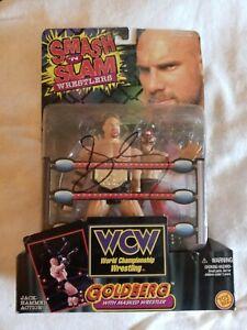 Goldberg signed WCW wrestling figure