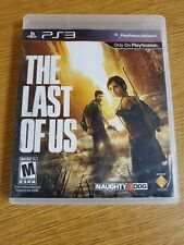The Last of Us (Sony PlayStation 3, 2013) With Naughty Dog Stickers CIB Nice!!