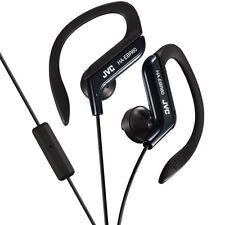 JVC HA-EBR80-B Athletic Sport Clip Style Earbud Headphones w HAEBR80 Black