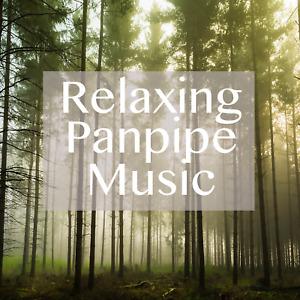 Panpipe Music CD - Relaxation Music Stress Sleep Nature Sounds Natural Panpipes