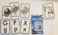 Thomas and Friends Learning Cards Alphabet ABC Educational Games Flash Cards
