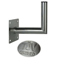 25 cm Wandhalter Stahl Wandabstand Wandhalterung SAT Spiegel Antenne Halterung