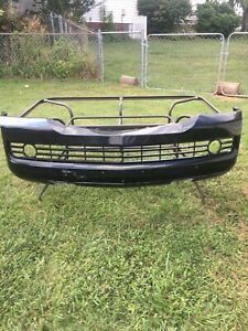 2007 lincoln navigator front bumper cover
