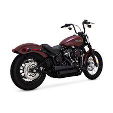 Vance & Hines Mini-Grenades, Schwarz, für Harley-Davidson Streetbob, Slim 18-19