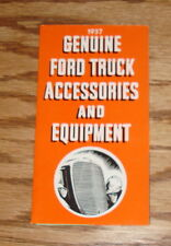 1937 Genuine Ford Truck Accessories & Equipment Foldout Sales Brochure 37