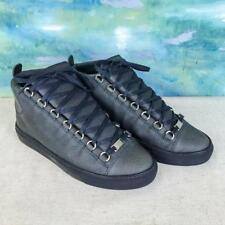 $665 BALENCIAGA Arena Cracked Print High Top Men's Trainer Sneakers SZ 40 SALE!