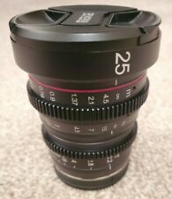 Meike 25mm T2.2 Cine Lens Fuji X Mount