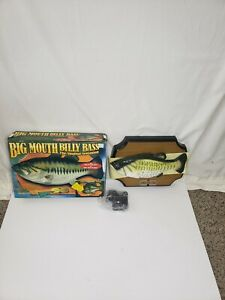 Big Mouth Billy Bass Singing Sensation Boxed Tested Gemmy 1998 Motion Activated
