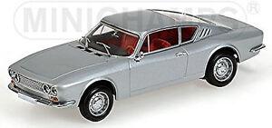 Ford Osi 20M Ts 1967-68 Silver Metallic 1:43 Minichamps