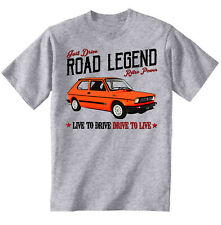 Fiat 127 Sport- NEW COTTON GREY TSHIRT - ALL SIZES IN STOCK