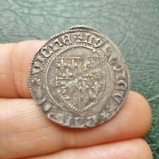 Dauphiné, Louis II, Futur Louis XI de France - Blanc - Romans