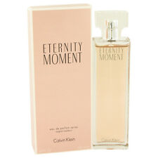 Eternity Moment Perfume By CALVIN KLEIN  3.4 oz Eau De Parfum Spray 415830