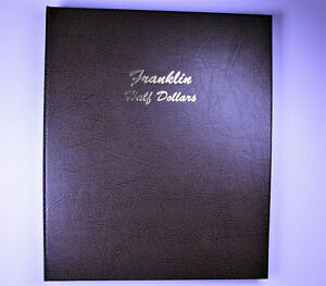Franklin Half Dollar Collection w/ Proofs In DANSCO 7165 Album All Uncirculated
