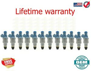 X12 OEM Bosch Fuel Injectors Rebuilt by Master ASE Mechanic USA 0280150715