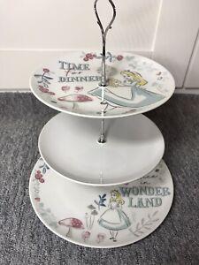 Alice in Wonderland 3 Tier Afternoon Tea Stand