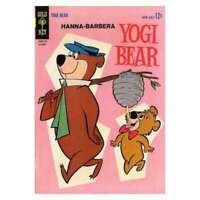 Yogi Bear (1959 series) #14 in Very Good + condition. Dell comics [*je]