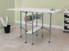 Sew Ready Studio Designs Folding Multipurpose Hobby and Craft Cutting Table with