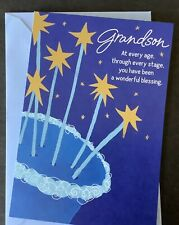 Happy Birthday Grandson Card Hallmark Greeting Card Thoughtful