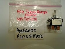 New Ge Range Switch 697T014P01 Free Shipping