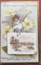 Kate Greenaway / Calendar of the Seasons 1889 1888
