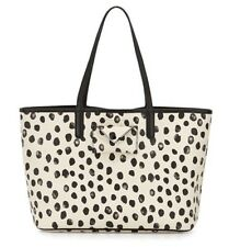MARC BY MARC JACOBS METROPOLITOTE SPOTTED LECHE MULTI TOTE BAG TRAVEL BEACH NEW