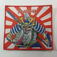 IRON MAIDEN TROOPER JAPANESE FLAG WOVEN PATCH
